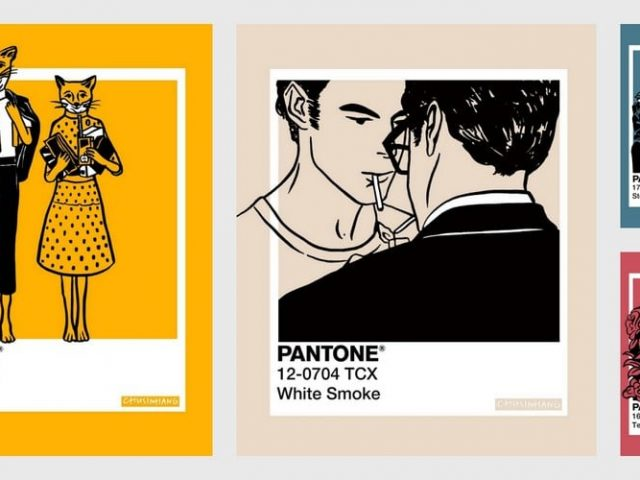 Η Chu Sin Hang χρωμάτισε τις αγαπημένες της ταινίες με τις αποχρώσεις της Pantone