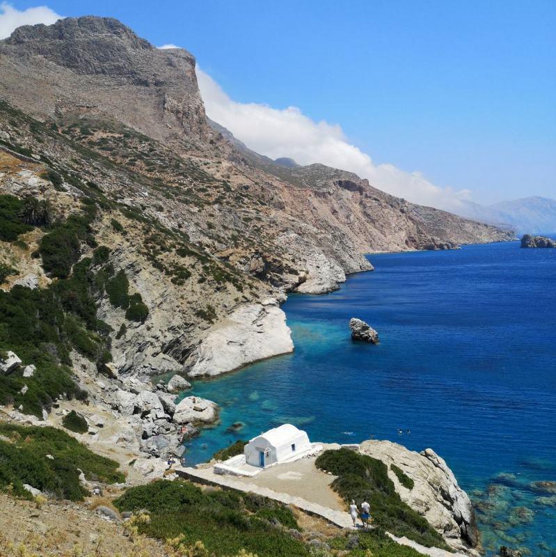 8 μέρες διακοπές…από το κινητό στην Αμοργό