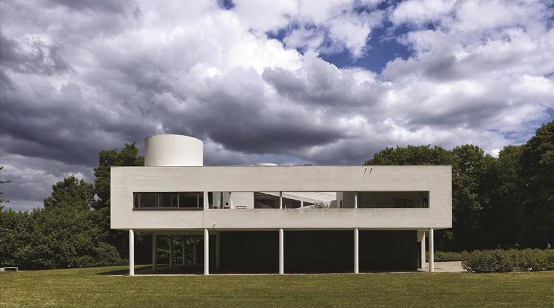 Villa Savoye et loge du jardinier, Poissy Photo : Cemal Emden 2015