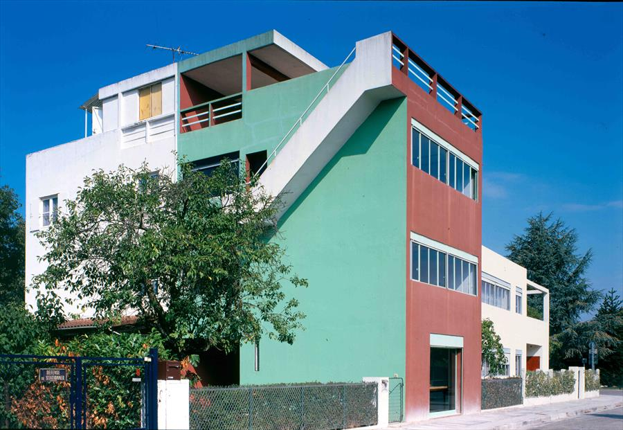 Cité Frugès, Pessac Photo : Paul kozlowski 1995