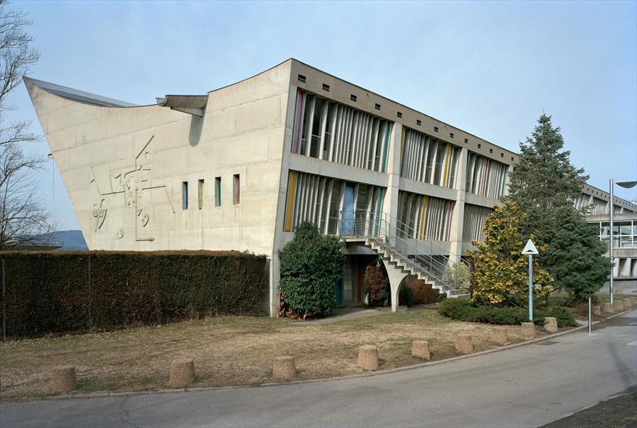 Maison de la Culture, Firminy Photo : Olivier Martin-Gambier 2008