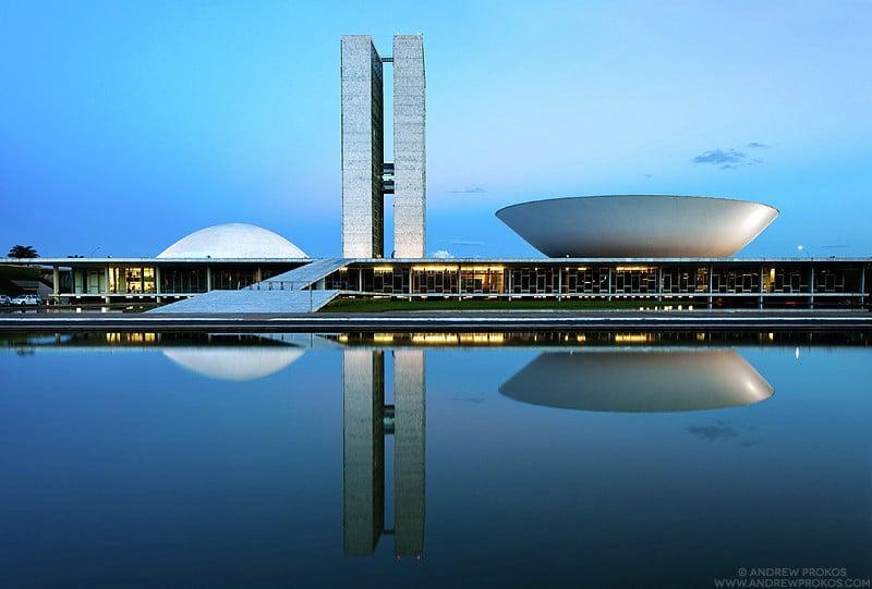 Congresso Nacional in Brasilia