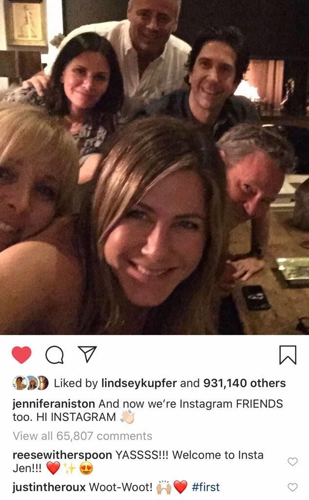 """Όταν ένα post της Jennifer Aniston """"έριξε"""" το Instagram"""