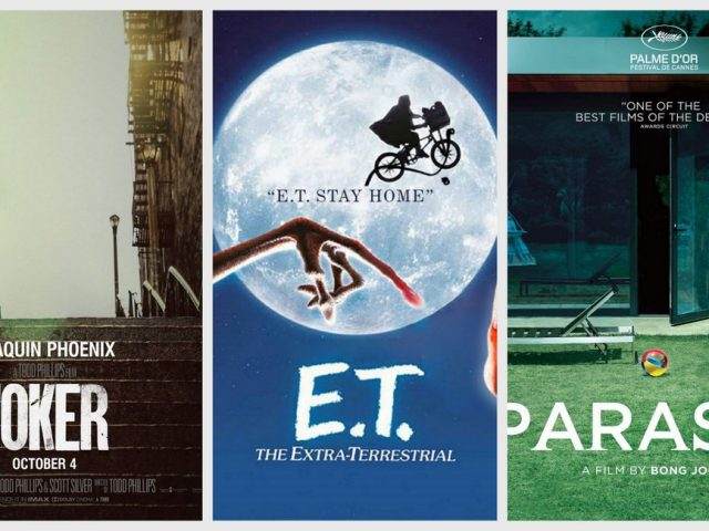 Πώς θα έμοιαζε το social distancing μέσα από τις κινηματογραφικές αφίσες;