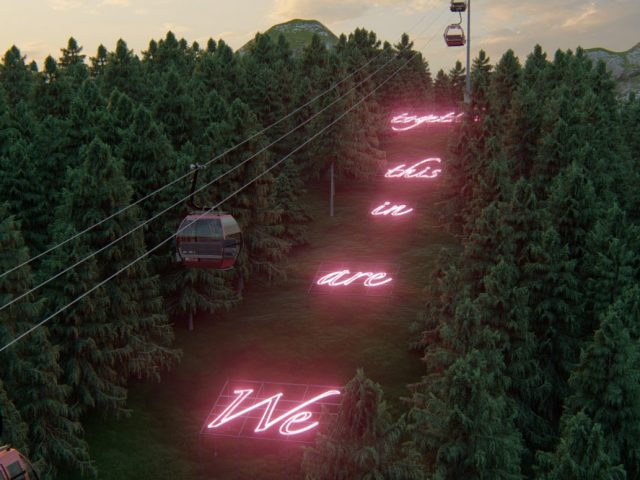 Ta neon installations του Tavares Strachan μας υπενθυμίζουν ότι είμαστε όλοι μαζί σε αυτό