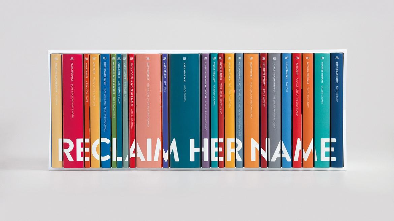 Reclaim Her Name: 25 κλασικά βιβλία επανεκδίδονται με το αυθεντικό όνομα της συγγραφέως τους