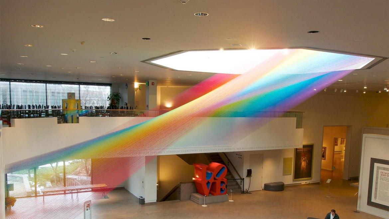 Ο καλλιτέχνης Gabriel Dawe φέρνει τα ουράνια τόξα μέσα στα μουσεία