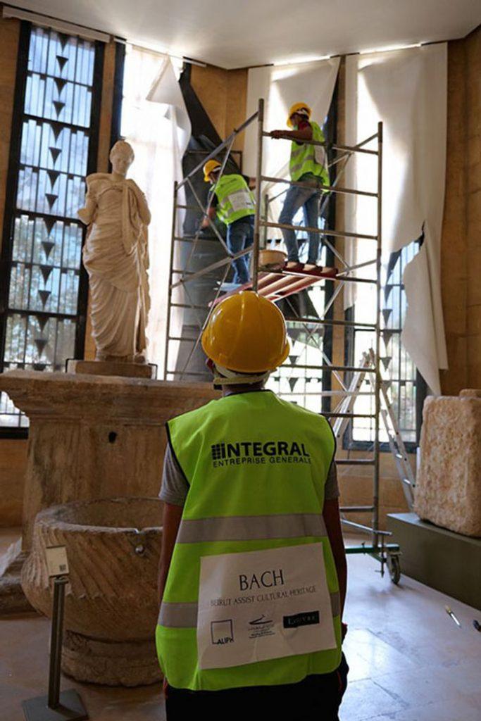 Ξεκίνησαν οι εργασίες αποκατάστασης στο Εθνικό Μουσείο της Βηρυτού