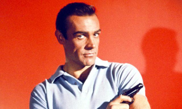 DR. NO, Sean Connery, 1962.